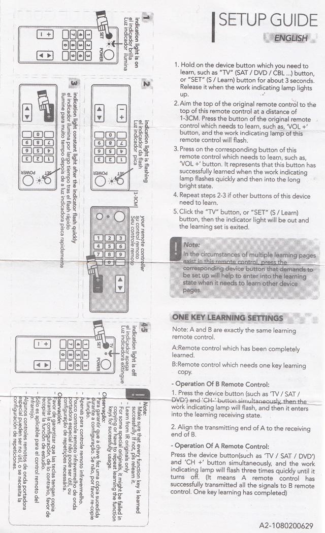 L336 リモコン 説明書